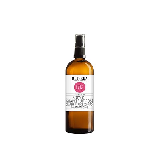 Oliveda Body Oil Grapefruit & Rose
