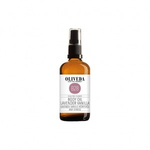 oliveda lavender vanilla body oil 100ml