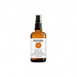 oliveda lime orange body oil 100ml