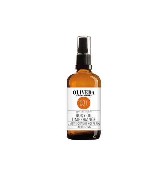 Oliveda Body Oil Lime & Orange