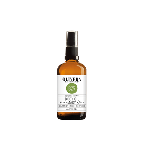 Oliveda Body Oil Rosemary & Sage
