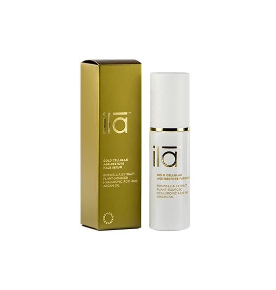 ila Spa Gold Cellular Age Restore Face Serum
