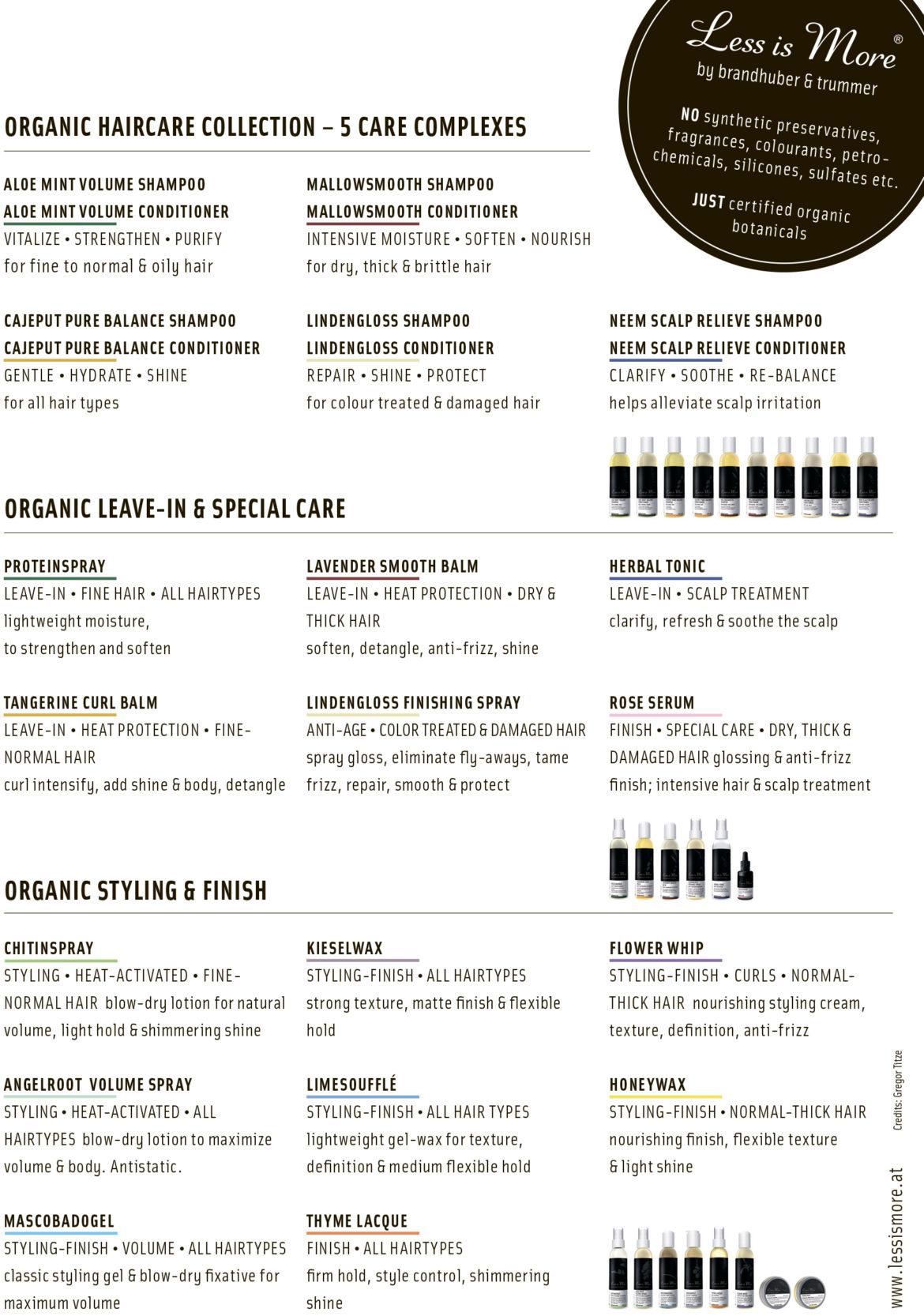 Organic Haircare Guide