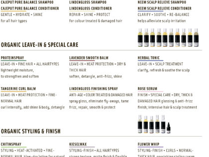 Less Is More. Organic Haircare Guide